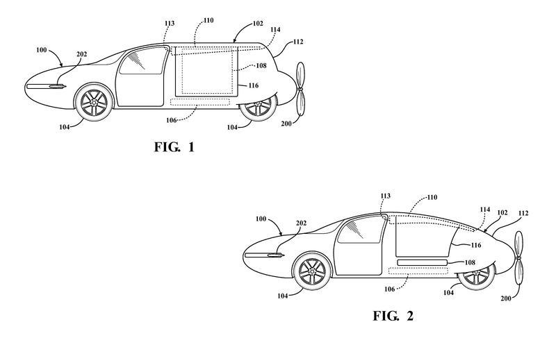 Toyota's shape-morphing aerocar (2014)