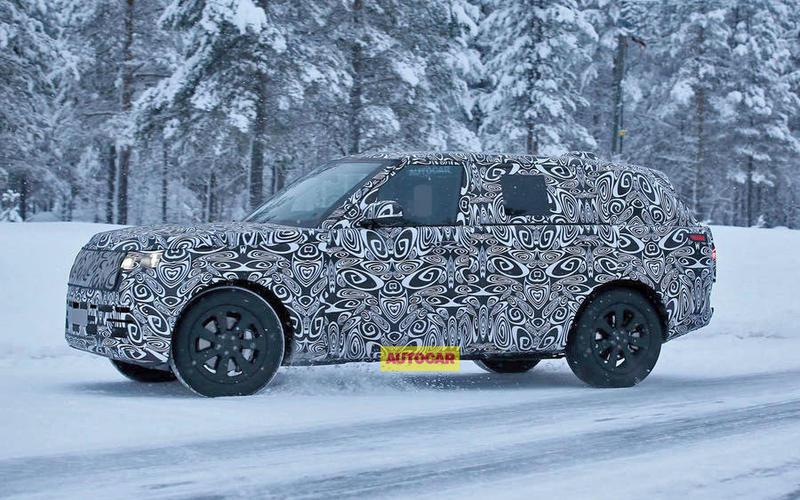 Here in 2021: the Range Rover Mk5