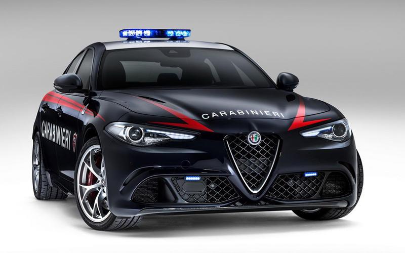23: Alfa Romeo Giulia QV (Italy)