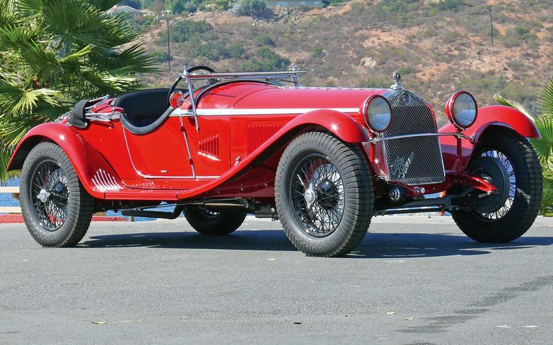 50. 1929 Alfa Romeo 1750 Zagato (UP 1)