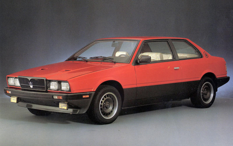TWIN-TURBO: Maserati Biturbo (1981)