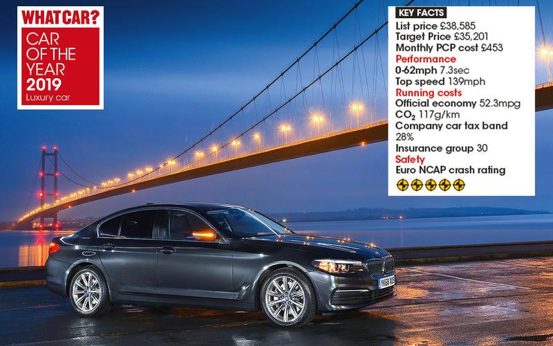 Overall Luxury Car winner: BMW 5 Series 520d SE