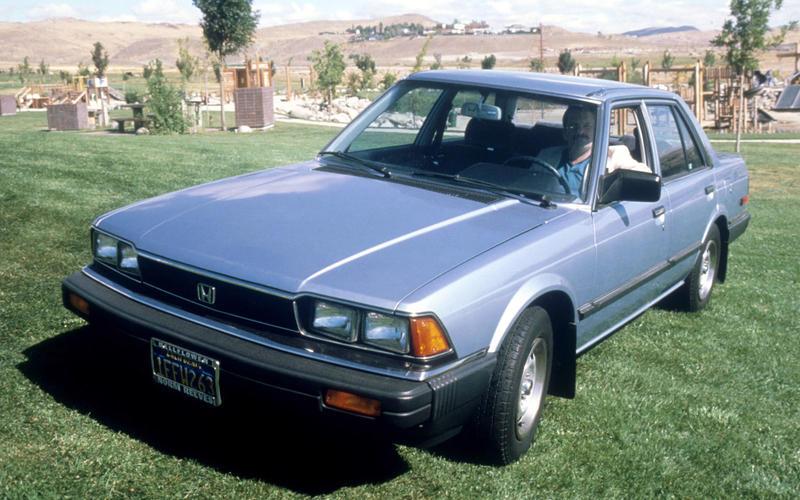 NAVIGATION: Honda Accord (1982)