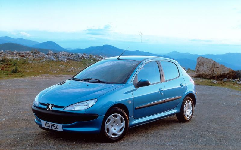 Peugeot – 206, 1998-2013: 8.4 million