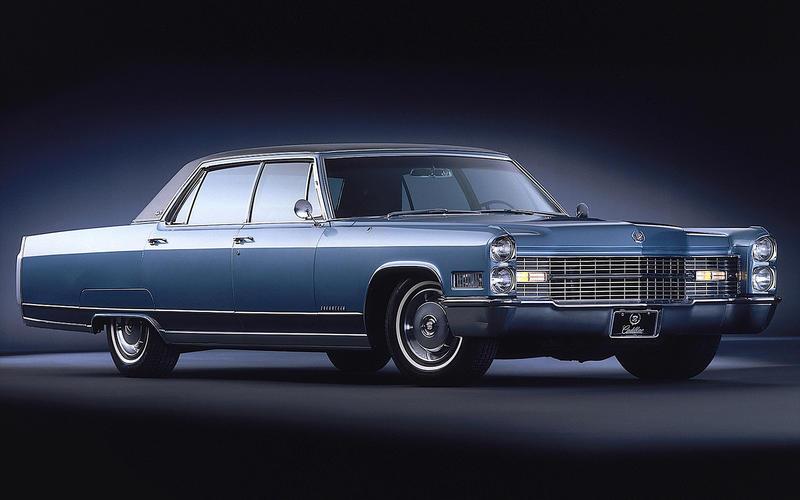 HEATED SEATS: Cadillac Fleetwood (1965)