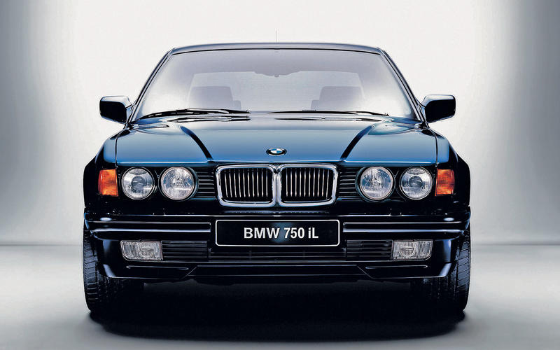 FLY-BY-WIRE BMW 7-Series (1987)