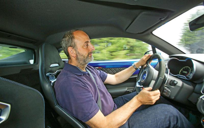 1: Alpine A110: interior