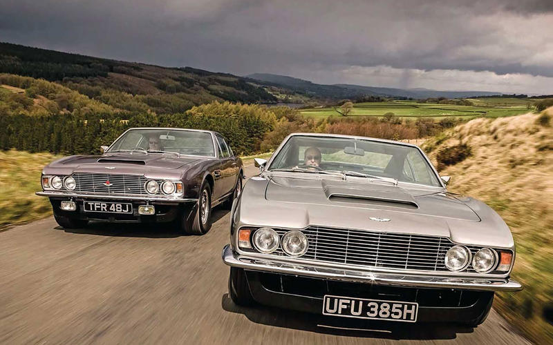 39 1969 Aston Martin DBS V8