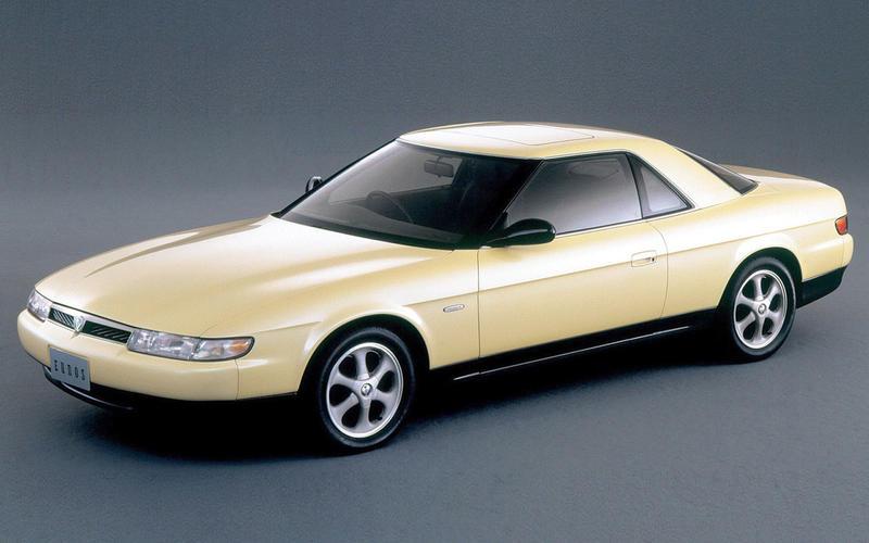 SAT-NAV: Mazda Eunos Cosmo (1990)