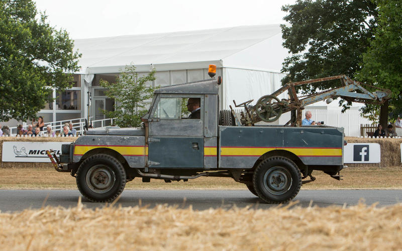 Land Rover Tow truck