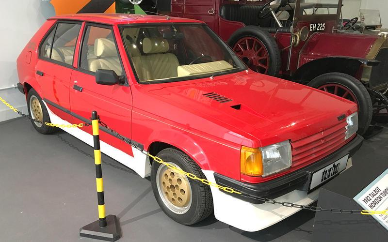 Talbot Horizon Turbo (1982)