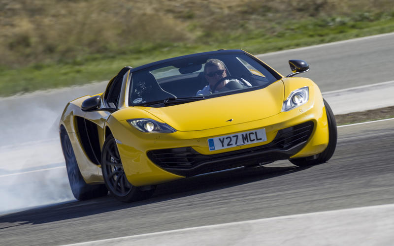 18=: McLaren MP4-12C Spider: 1min 8.90secs