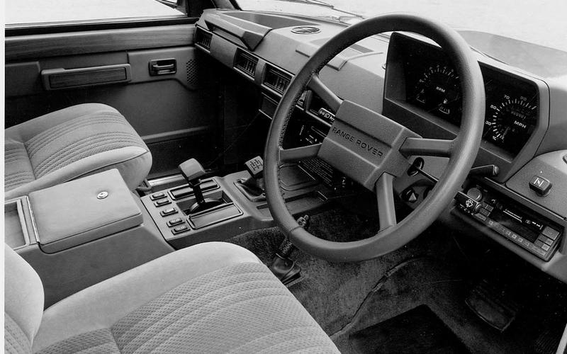 1982 - Automatic gearbox introduced