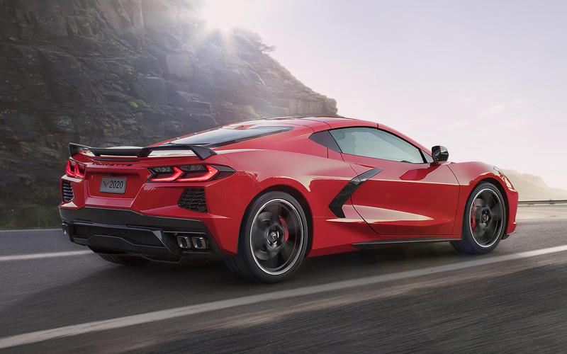 6. Chevrolet Corvette Stingray (2020)