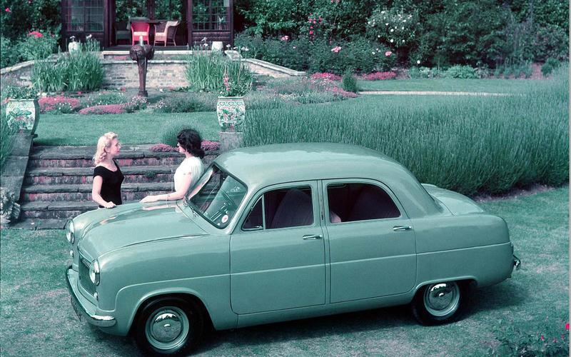 MACPHERSON STRUT SUSPENSION: Ford Consul (1950)
