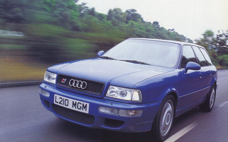 Autocar tests the RS 2 Avant (1994)