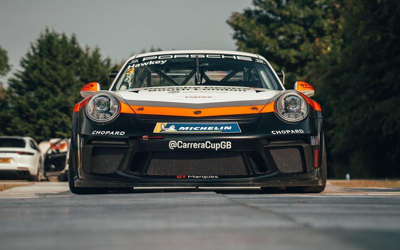 Porsche Carrera Cup racer