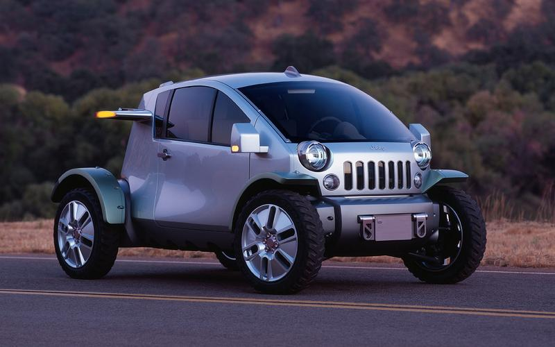 Freeman Thomas' miss: Jeep Treo concept