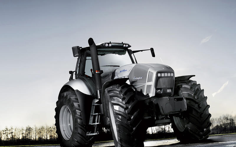 Lamborghini's tractors