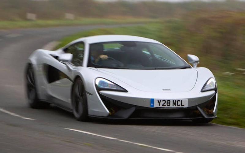 16: McLaren 540C