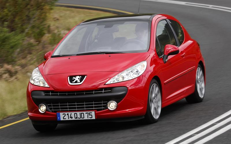 6: Peugeot 207 (48,037 sold)