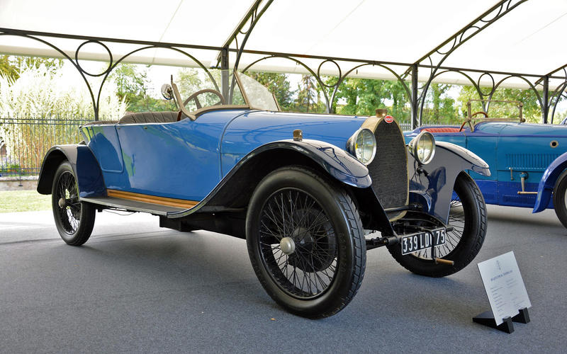 Bugatti Type 30 Touring (1925)