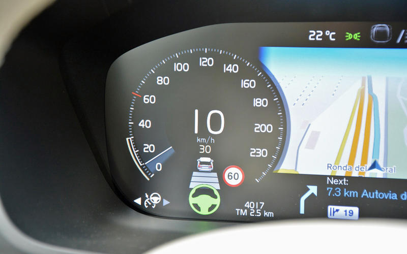 Relying too much on electronic driving aids