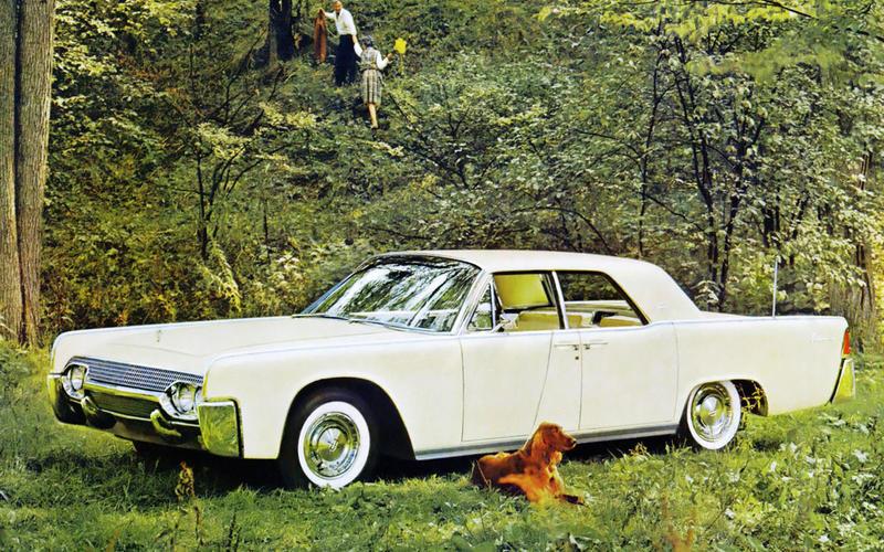 41. 1961 Lincoln Continental