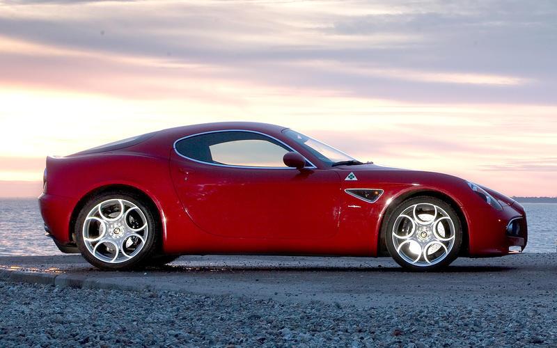 40. 2007 Alfa Romeo 8C Competizione