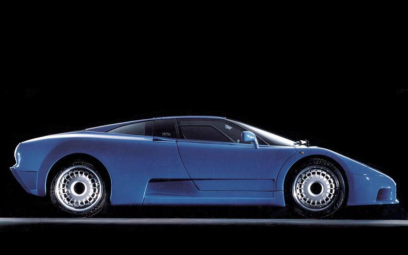 QUAD-TURBO: Bugatti EB110 (1991)