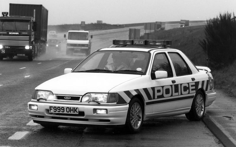 9: Ford Sierra RS Sapphire Cosworth (Britain)