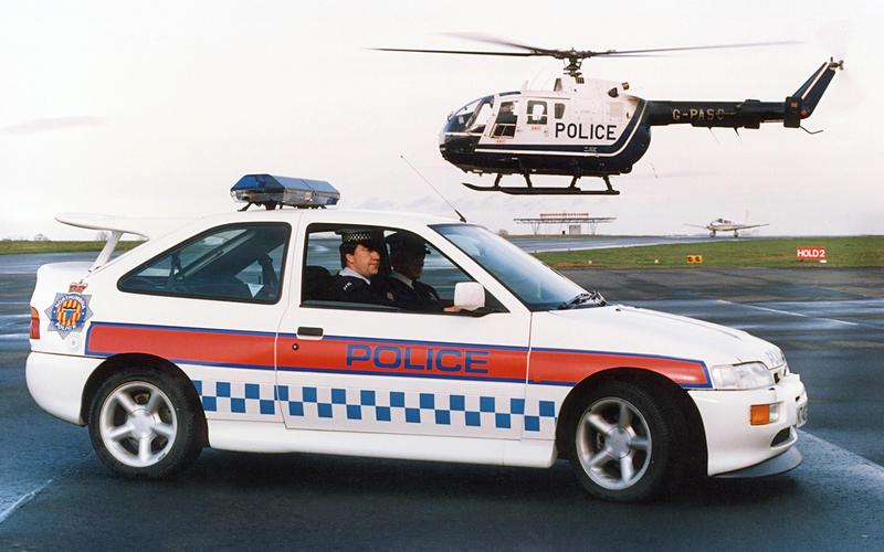 6: Ford Escort RS Cosworth (Britain)