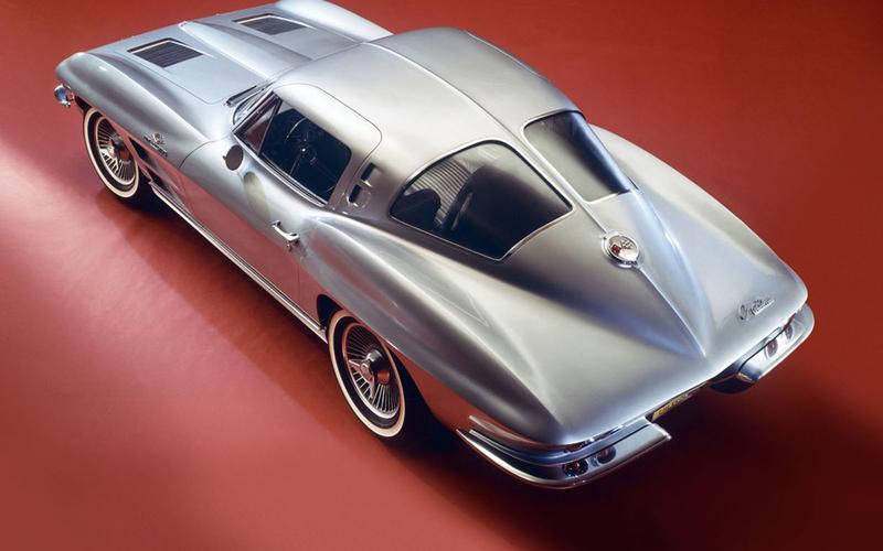 34. 1963 Chevrolet Corvette Stingray