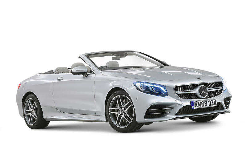 BEST BUY - MORE THAN £50,000 - Mercedes-Benz S-Class Cabriolet S560 AMG Line