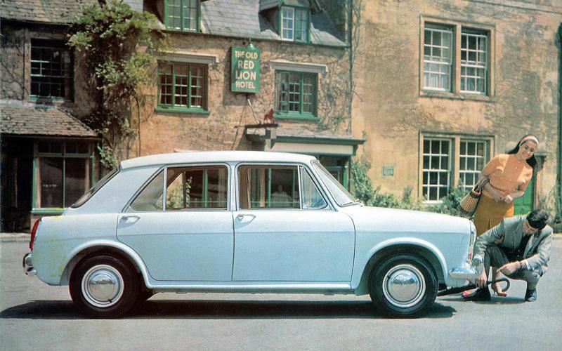 28 1962 Morris 1100