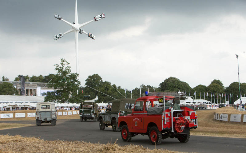 the 2018 Goodwood Festival of Speed Sculpture