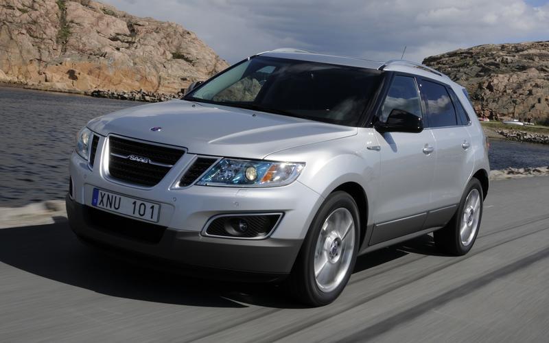New Saab: 9-4X, 2010