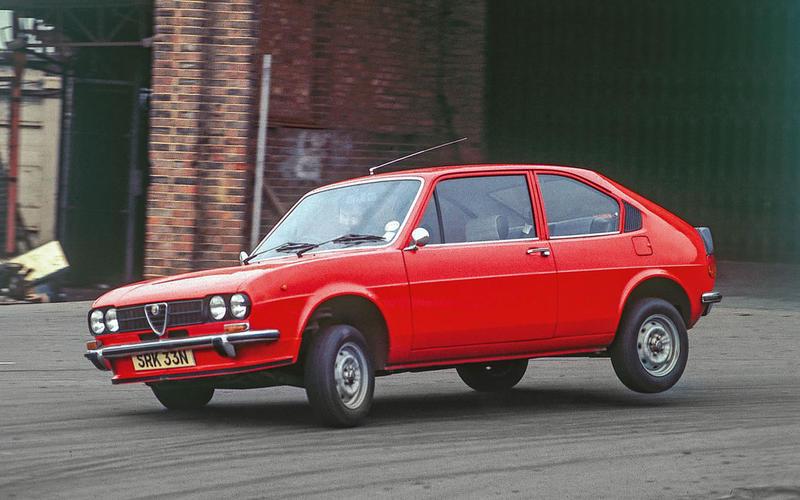Alfa Romeo Alfasud: 1972-1983