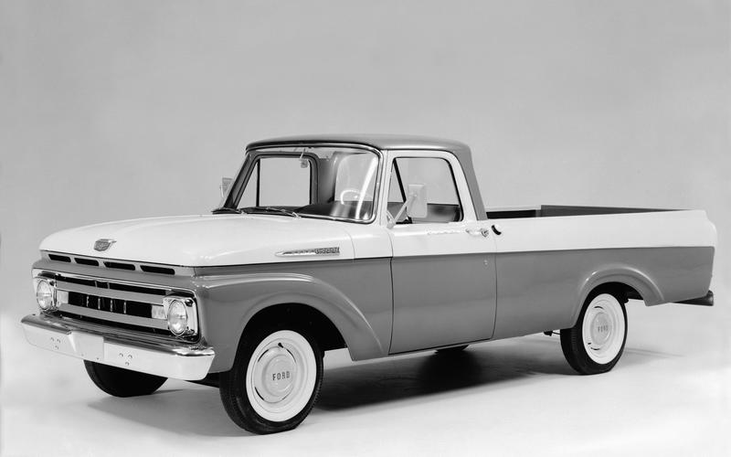 The fourth-generation F-Series (1960)