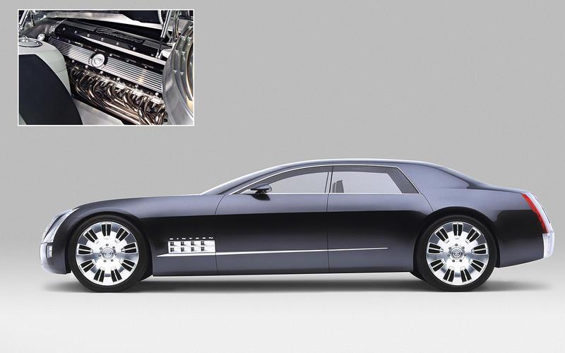 Cadillac Sixteen: 13.6 litres