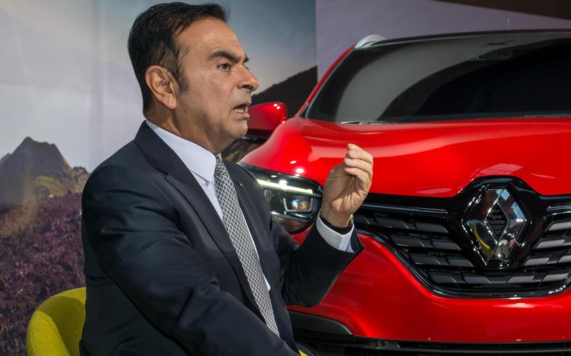 Carlos Ghosn - CEO, Renault-Nissan-Mitsubishi