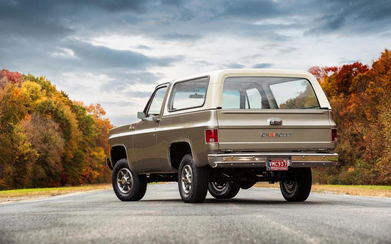 Chevrolet K5 Blazer-E (1977)