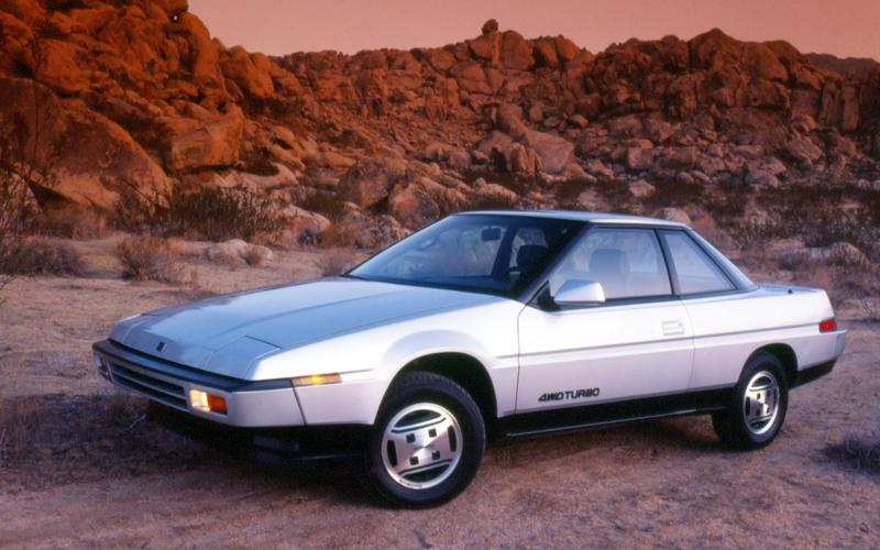 13: Subaru XT (1985)