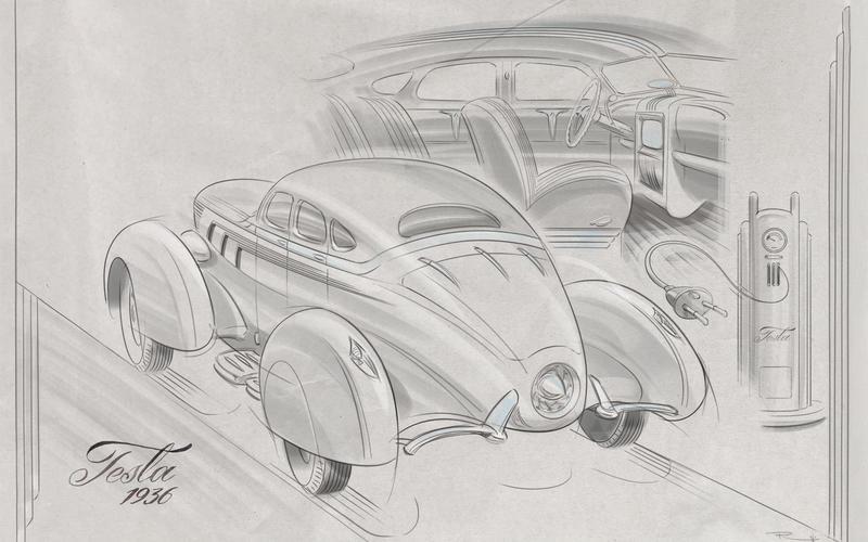 1936 TESLA MODEL C – 'TESLA MODEL S'
