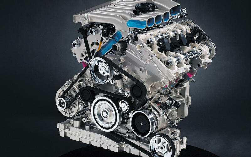 Volkswagen Passat W8 (2002-2005) - engine
