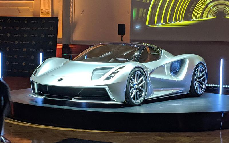 27 2021 Lotus Evija – NEW ENTRY