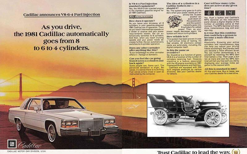 CYLINDER DEACTIVATION: General Motors (1980)