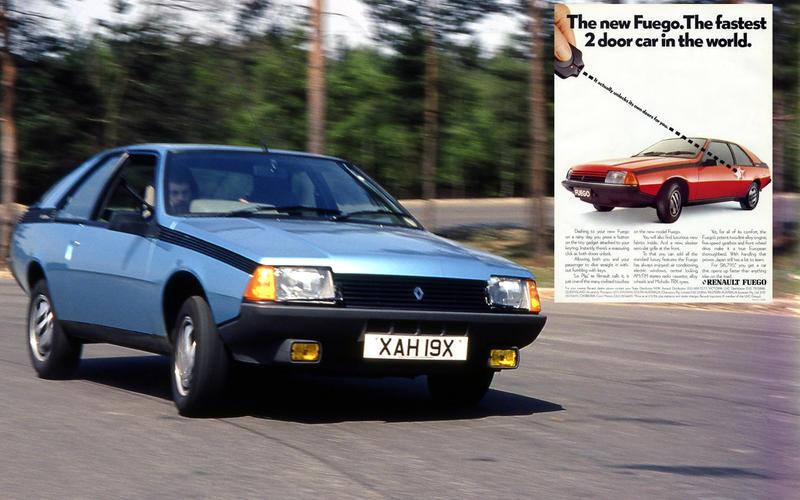 REMOTE LOCKING: Renault Fuego (1982)