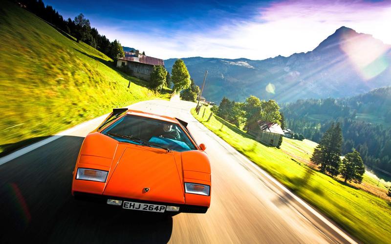 26. 1974 Lamborghini Countach (UP 2)
