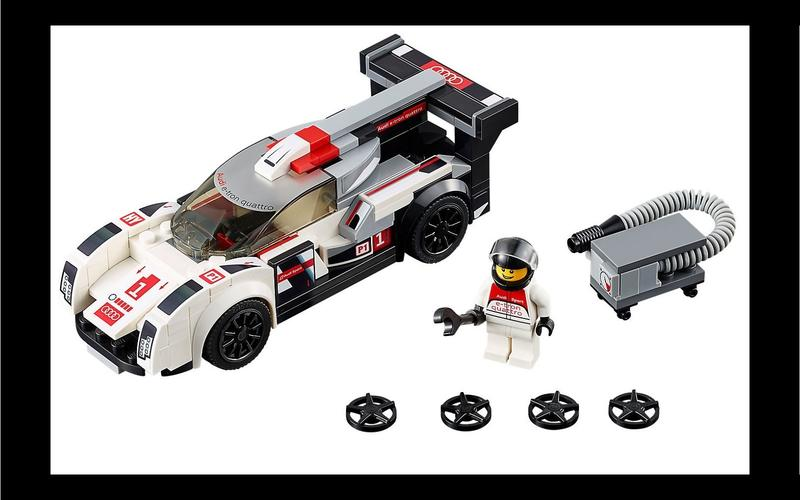 Audi R18 e-tron quattro (Speed Champions set #75872, US$35/£35)